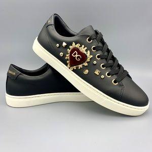 NIB Dolce & Gabbana Women's Black Sneakers  36